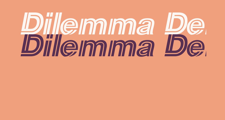 Dilemma Demo