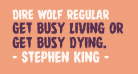 Dire Wolf Regular