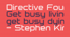 Directive Four