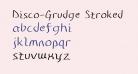 Disco-Grudge Stroked (Apple) Medium