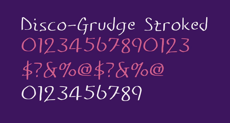 Disco-Grudge Stroked [Window] Medium