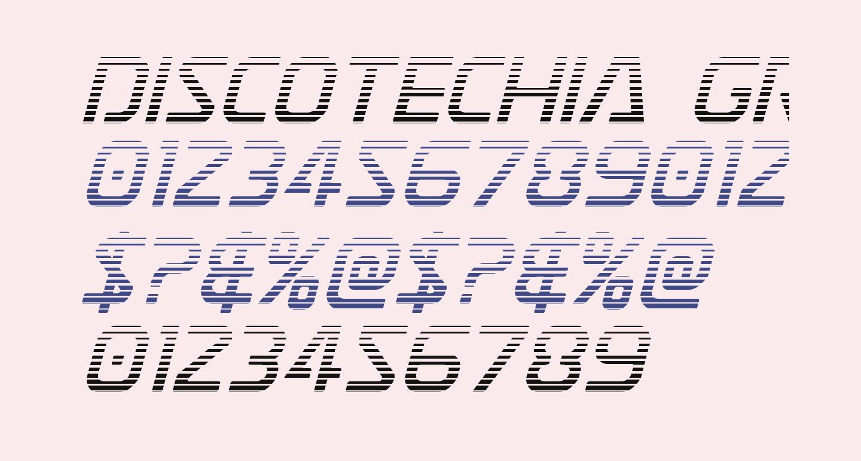 Discotechia Gradient