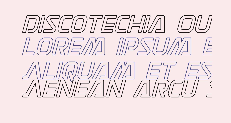 Discotechia Outline