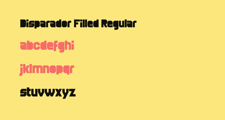 Disparador Filled Regular