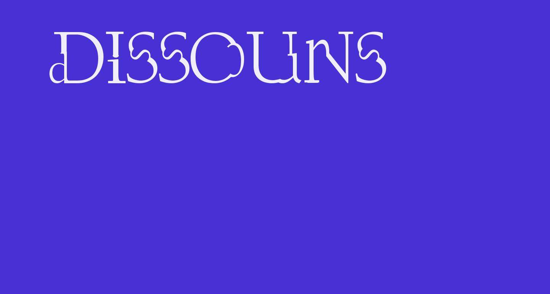 Dissouns