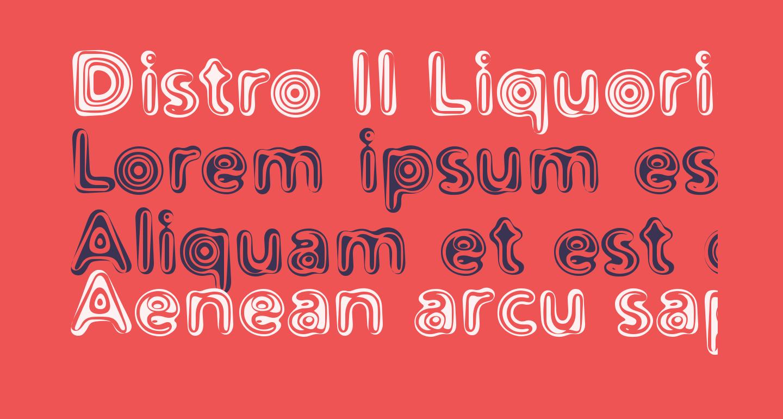 Distro II Liquorice