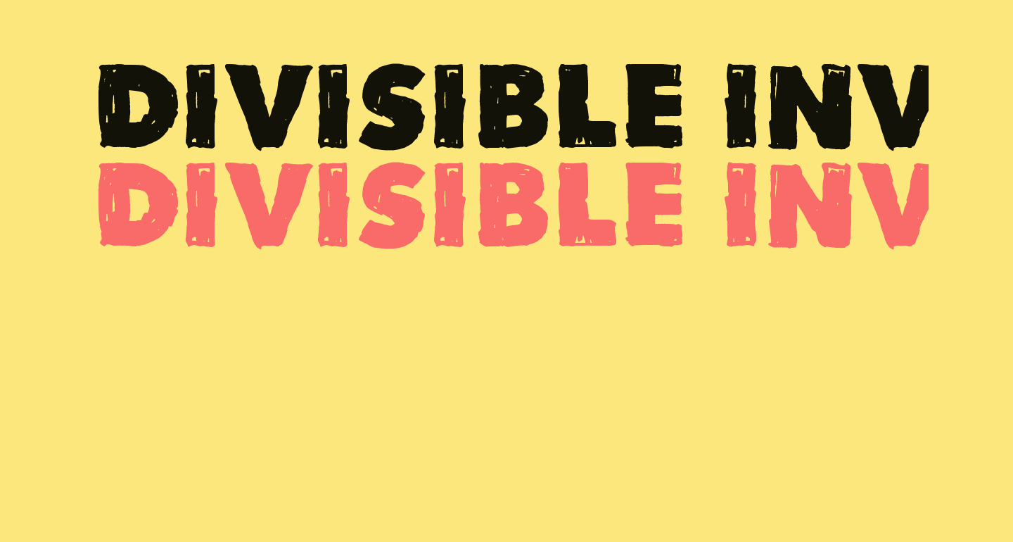 Divisible Invisible Low