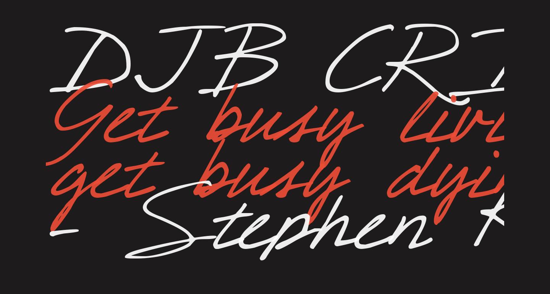 DJB CRIS script