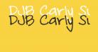 DJB Carly Sue Got Married