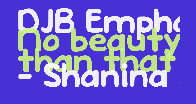 DJB Emphatic