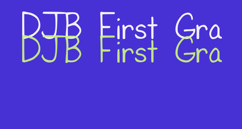 DJB First Grade Teacher