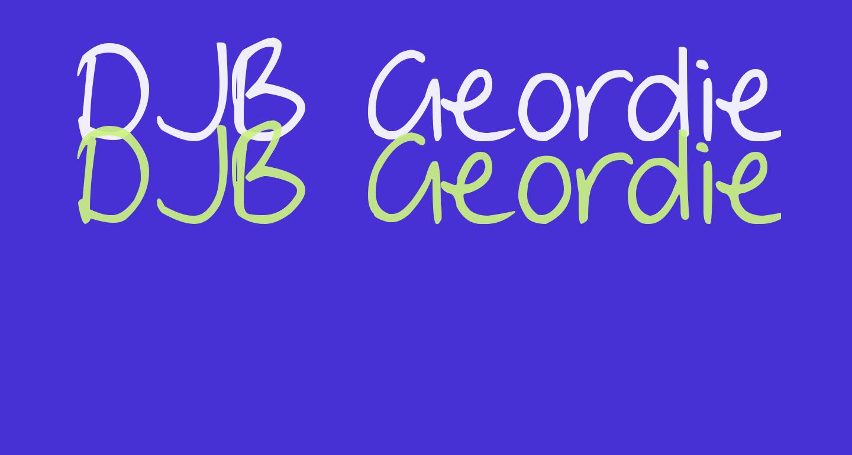 DJB Geordie Girl
