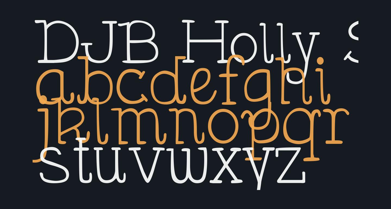DJB Holly Serif