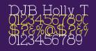 DJB Holly Typed
