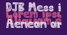 DJB Mess in My Head Bold