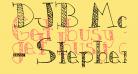 DJB Monkey Scratches