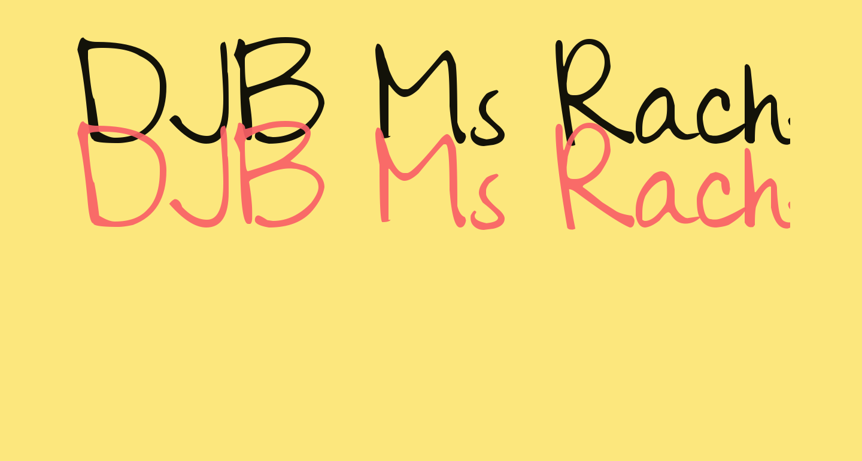 DJB Ms Rachel