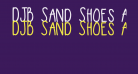 DJB Sand Shoes and a Fez Bold Bold