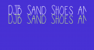 DJB Sand Shoes and a Fez