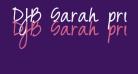 DJB Sarah prints