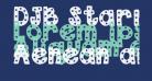 DJB Starry Starry Font