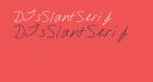 DJsSlantSerif