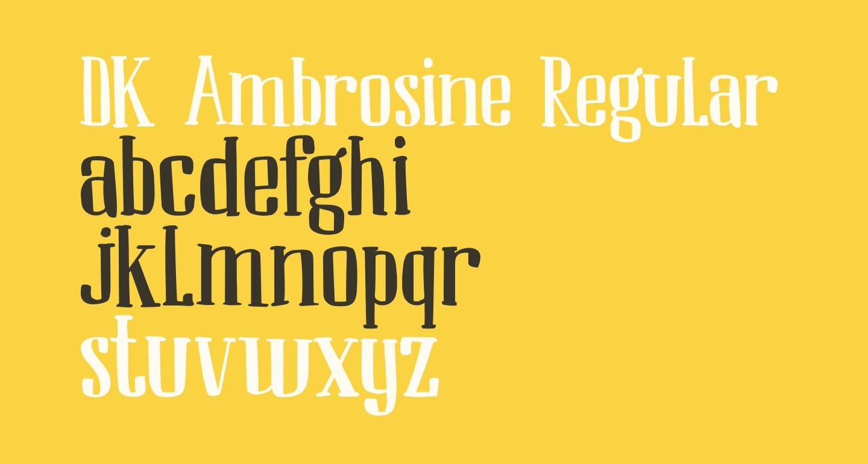 DK Ambrosine Regular