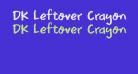 DK Leftover Crayon Regular