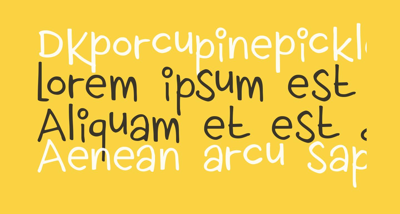 DKPorcupinePickle
