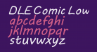 DLE Comic Lowercase