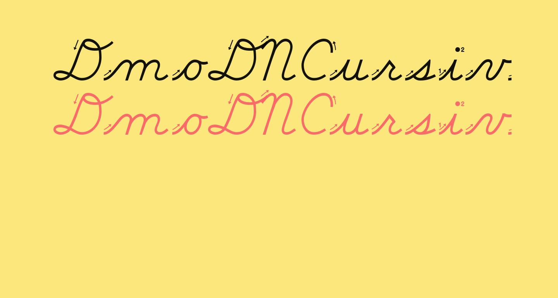 DmoDNCursiveArrow