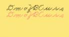 DmoZBCursiveArrow