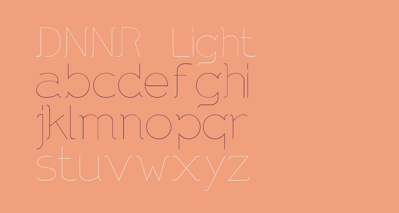 DNNR   Light