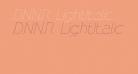 DNNR  LightItalic