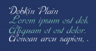 Dobkin Plain