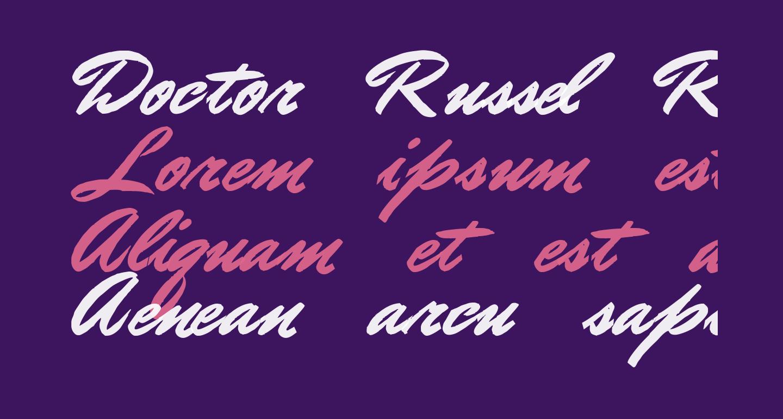 Doctor Russel Regular