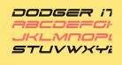 Dodger Italic