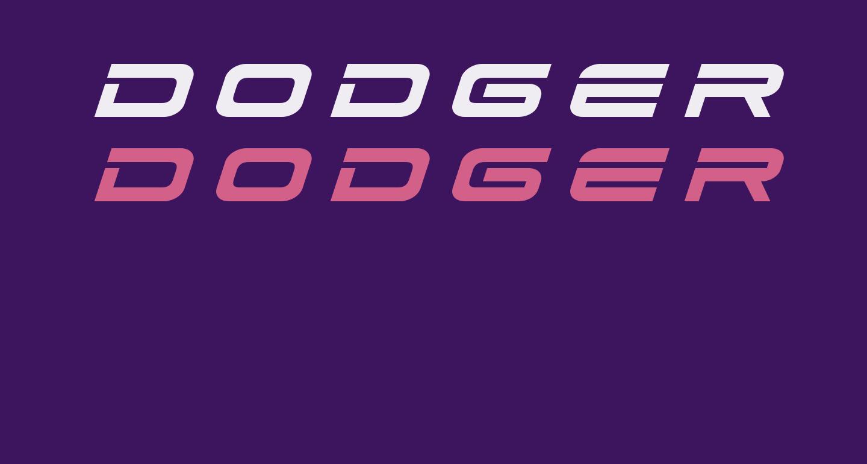 Dodger Title Italic