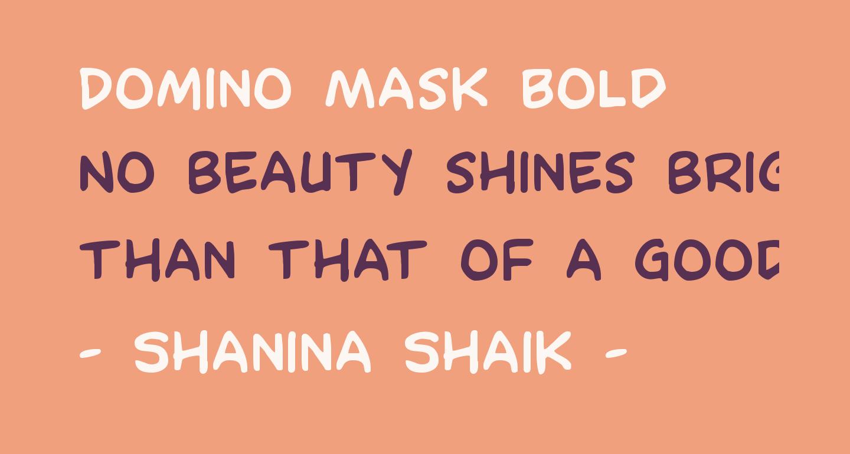 Domino Mask Bold