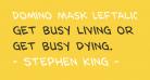 Domino Mask Leftalic