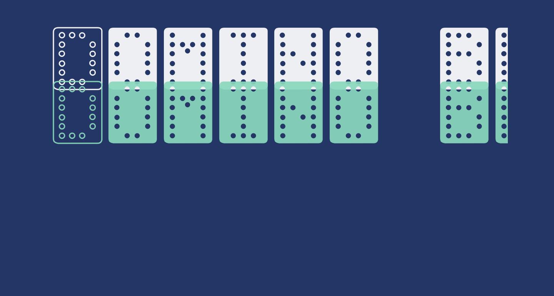 Domino bred
