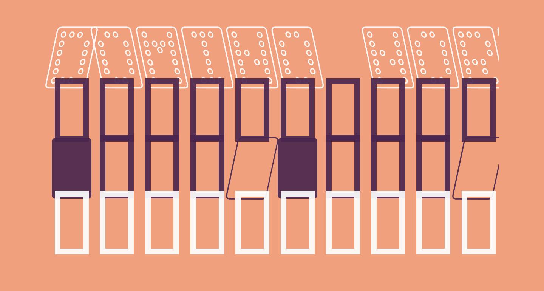 Domino normal kursiv omrids