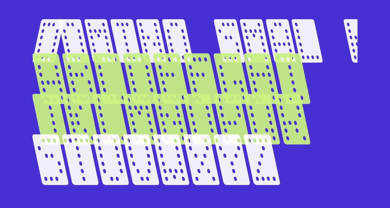 Domino smal kursiv