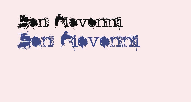 Don Giovonni