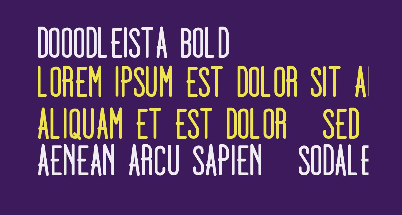 Dooodleista Bold