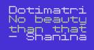 Dotimatrix 7