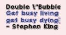 Double 'Bubble Shadow