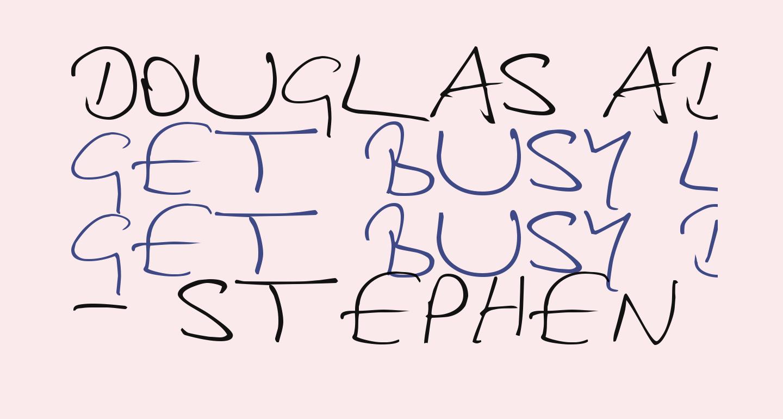 Douglas Adams Hand