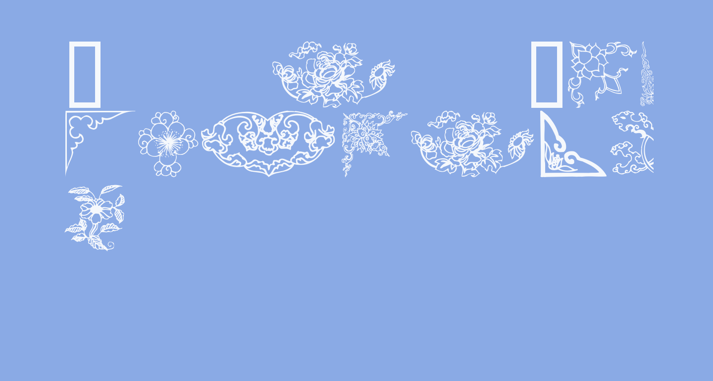 Dover Chinese Motif Design