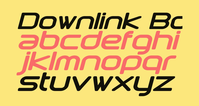 Downlink Bold Italic